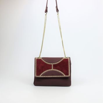 Sam Edelman Maddy Leather Shoulder Bag