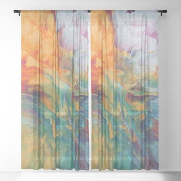 Boom Sheer Curtain by duckyb