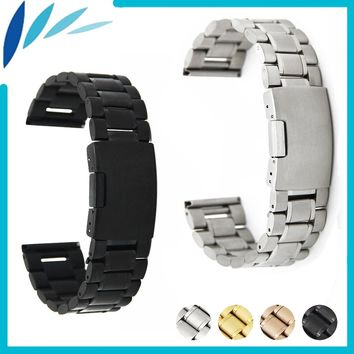 Stainless Steel Watch Band 20mm 22mm 24mm for Orient Watchband Strap Wrist Loop Belt Bracelet Black Rose Gold Silver + Tool