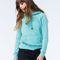 Billabong Moving On Womens Hoodie Mint  In Sizes