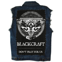 Protection Moth - Back Patch | Black Craft