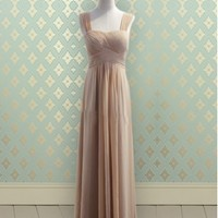 Buy Elegant A-line Straps Floor Length BridesmaidDress/Prom Dress/Wedding Party Dress under 200-SinoAnt.com