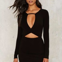 Hole in the Wall Mini Dress