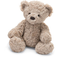 Jellycat Small Bertie Bear Stuffed Teddy, Tan