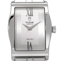 Tudor Archeo Stainless Steel Men's Watch 30200, 8/10 Condition - Made in Switzerland watches: Maurice Lacroix, Bvlgari, Montblanc and more - Modnique.com