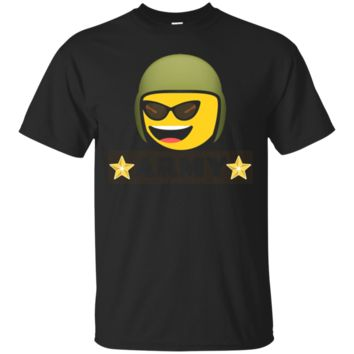 Cute Emoji army with starsT-shirt emoji shirt