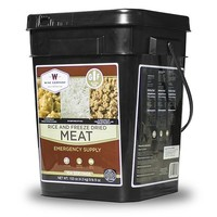 Gluten Free Emergency Freeze Dried Meat & Rice - 104 Servings