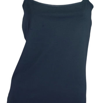 Ann Taylor Camisole Tank Top (Navy Blue)