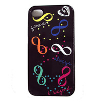 Infinity iPhone 4 & 4S Cell Phone Case Sassy Cases Forever Always and Beyond