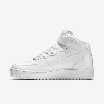 The Nike Air Force 1 Mid 07 Men's Shoe.