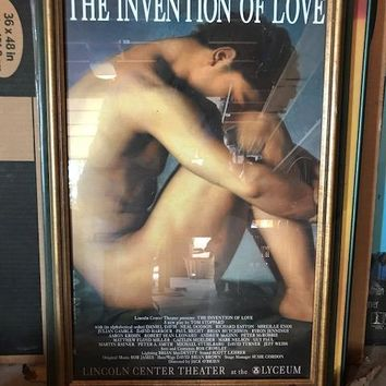 The Invention of Love Poster
