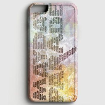 Mayday Parade Typography iPhone 8 Case