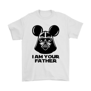 PEAP3CR I Am Your Father Mickey Darth Vader Shirts