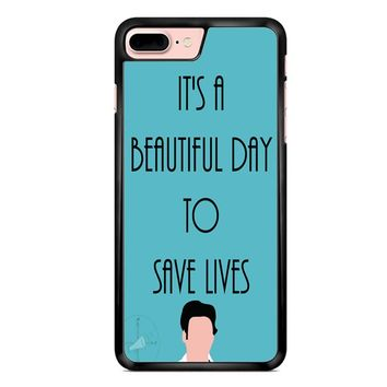Greys Anatomy Shepherd iPhone 7 Plus Case
