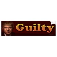 guilty bumper sticker