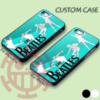 the beatles for iPhone 5/5S, 5C Case, iPhone 4/4S Case, Samsung Galaxy S3 i9300, S4 i9500 Case.