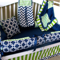 Thane Custom Baby Bedding Crib Set 6 pc set