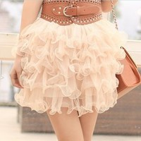 Ruffle Layer My Princess Skirt