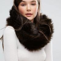 Jack Wills Faux Fur Snood at asos.com