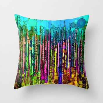 :: Party Time :: Throw Pillow by :: GaleStorm Artworks ::