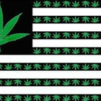 NEOPlex 3' x 5' Marijuana USA Flag