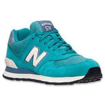 women s new balance 574 pennant casual shoes