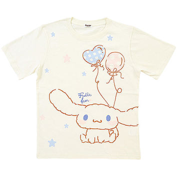 Buy Sanrio Cinnamoroll Balloon Classic White T-Shirt at ARTBOX