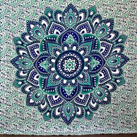 Large Hippie Tapestry Mandala Boho Bedspread Throw Wall Beach