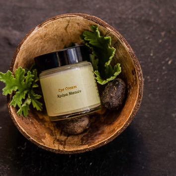 Natural Handmade Eye Cream with Argan oil for Dark Circles and Fine Lines