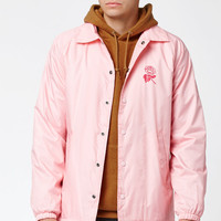 OBEY New Rose Coach Jacket at PacSun.com