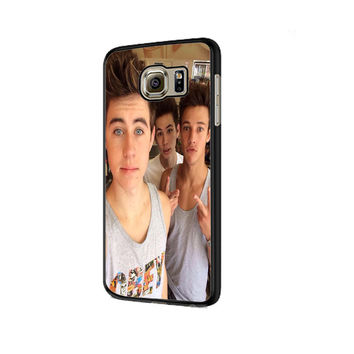 Cameron Dallas And Nash Grier Selffie Samsung Galaxy S6 | S6 Edge Cover Cases