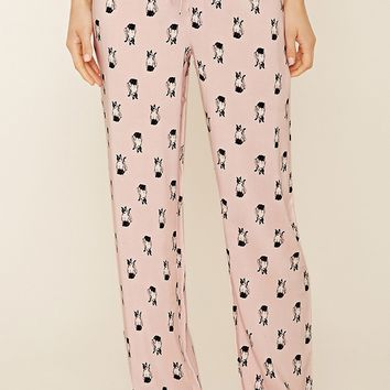 Siamese Cat Print PJ Pants