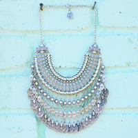 SHAIYA ➳ GRAND COIN COLLAR NECKLACE