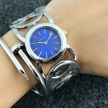 PEAPUF3 CK Calvin Klein Woman Men Fashion Print Watch Business Watches Wrist Watch White Watch Dial G-Fushida-8899