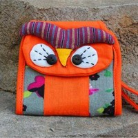 Cute Owl Wallet Purse