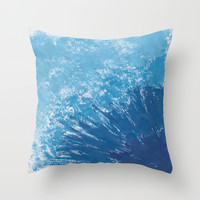 In love with the sky Throw Pillow by Sarah Hinds | Society6