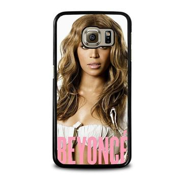 beyonce knowles samsung galaxy s6 case cover  number 1