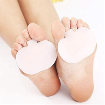1 SET  Silicone pad GEL insole toe support PU insole