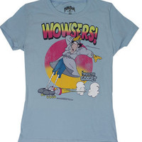 Wowsers! - Inspector Gadget Sheer Women's T-shirt - MyTeeSpot - Your T-shirt Store
