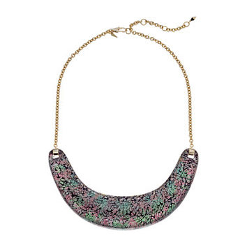 Alexis Bittar Crescent Bib Necklace