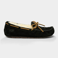 Ugg Dakota Womens Slippers Black  In Sizes