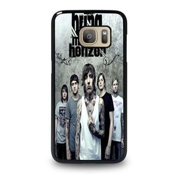 bring me the horizon samsung galaxy s7 case cover  number 1