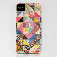 Grandma's Quilt iPhone Case by Rachel Caldwell | Society6