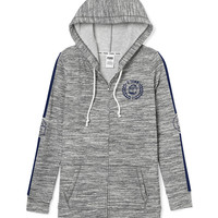Georgetown University Full-Zip Tunic Hoodie