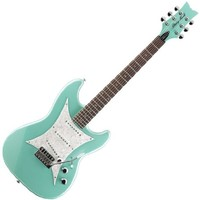 Daisy Rock Rebel Rockit Supernova Guitar - Galaxy Green