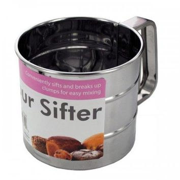 Metal Flour Sifter (pack of 6)