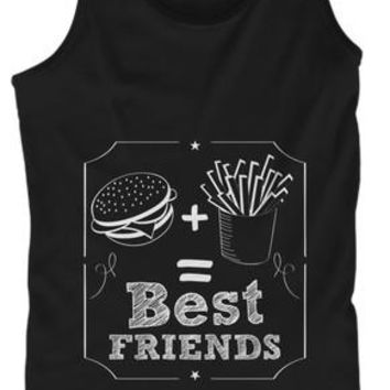 Burger And Fries Best Friends Foodie