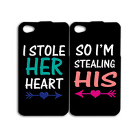Cute Couple iPhone Case Funny iPod Case Husband Wife Phone Case iPhone 4 Case iPhone 5 Case iPhone 4s Case iPhone 5s Case iPhone 5c Case