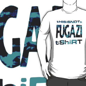 this is not a fugazi shirt 2 by BUB THE ZOMBIE