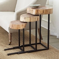 Nature's Nesting Tables